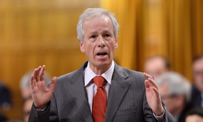 Minister of Foreign Affairs Stephane Dion during question period in the House of Commons on Dec. 11, 2015. THE CANADIAN PRESS/Sean Kilpatrick