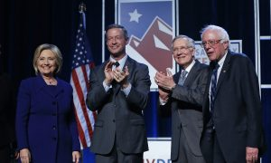 Clinton, Sanders, O'Malley Seek Victory in Nevada Caucuses