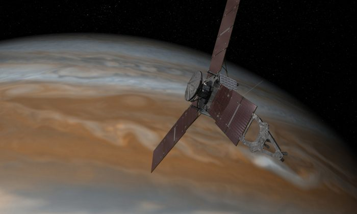 NASA's Juno probe will be the fastest object humanity has ever created when it approaches Jupiter. (NASA/JPL-Caltech)