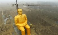 Why Did China Tear Down the Giant Gold Statue of Mao?