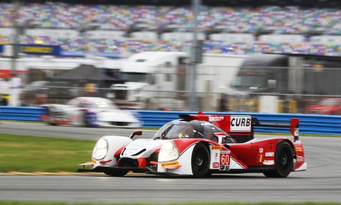 The #60 Shank Ligier-Honda was quickest in both Friday sessions of the Roar Before the 24 at Daytona International Speedway. (Chris Jasurek/Epoch Times)