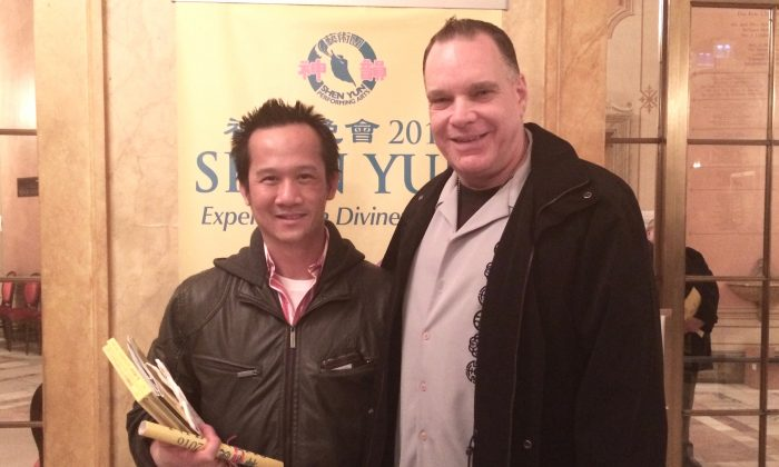 Buddies Buy Front Row Shen Yun Seats Four Consecutive Years
