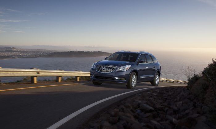 2016 Buick Enclave. (Courtesy of NetCarShow.com)