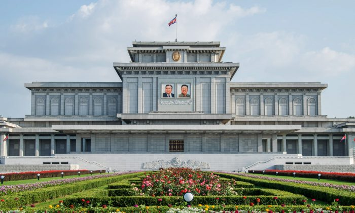 A general view of the tomb of Kim Il-Sung and Kim Jong-Il, the Kumsusan Palace of the Sun, in Pyongyang, North Korea, on Aug. 23, 2015. (Xiaolu Chu/Getty Images)