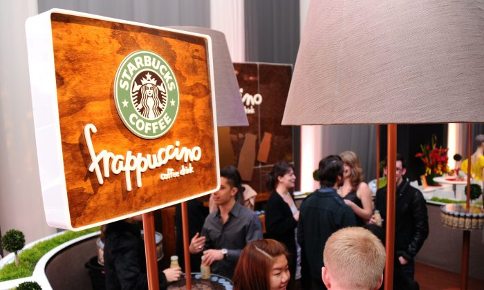 A view of the  Starbucks Frappuccino lounge at Lincoln Center during Mercedes-Benz Fashion Week on February 15, 2011 in New York City.  (Andrew H. Walker/Getty Images for IMG)