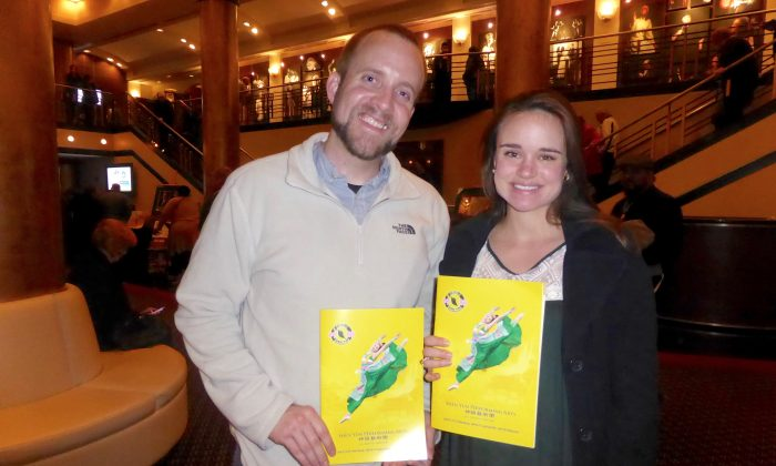 Shen Yun Teaches 'Never Give Up'
