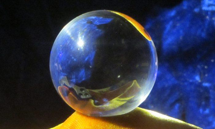 Crystal ball. (KDS4444/CC BY-SA 4.0)