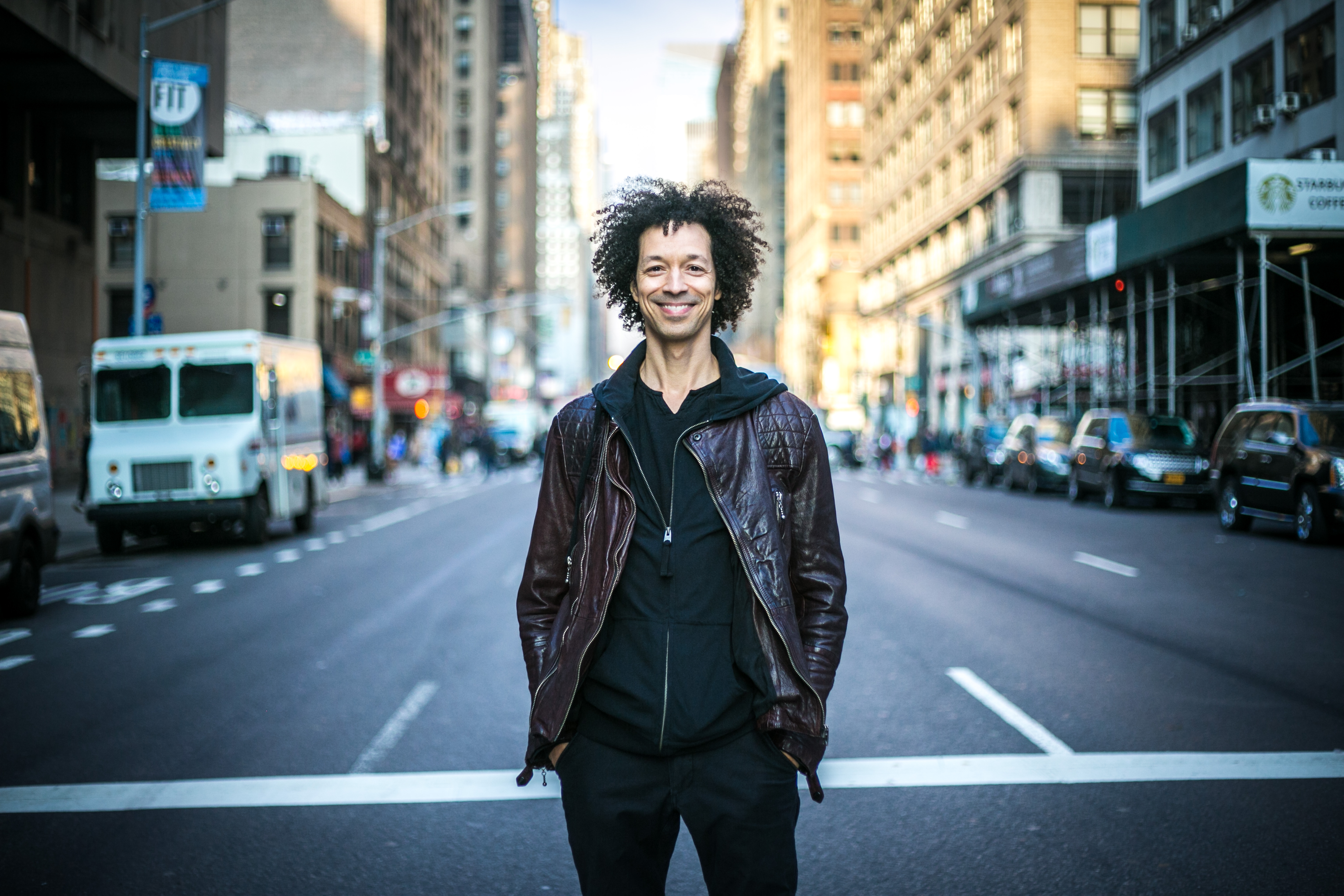 Zachary Alford, professional musician, in New York on Dec. 10, 2015. (Benjamin Chasteen/Epoch Times)