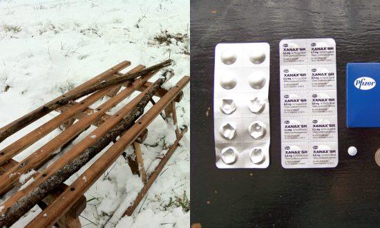 Prosecutor: Man Walked $1.6M in Pills Across Border on Sled