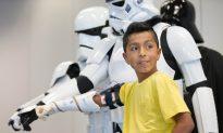 Nebraska Boy Presented Prosthetic Arm by 'Star Wars' Group