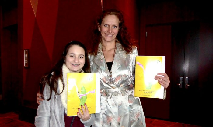 Actress: Shen Yun 'Reminded me that humans are vessels of divinity'