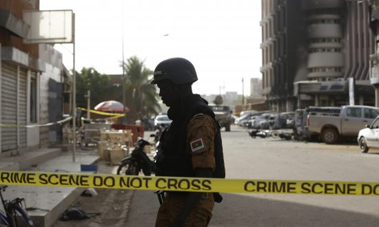 Gunmen Kill 24 in Attack Near Church in Burkina Faso