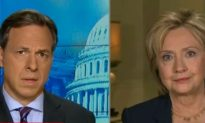 Watch Hillary's Reaction When Jake Tapper Asks Her If She's Been Interview by the FBI