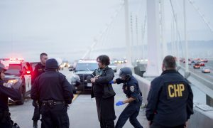 25 MLK Day Protesters Arrested for Blocking Bridge Near Oakland, California
