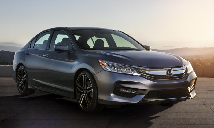2016 Honda Accord sedan. (Courtesy of Honda)