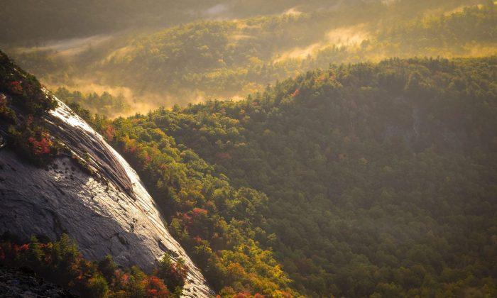 Whiteside Mountain, United States. (Frances Gunn/Unsplash.com, CC SA)