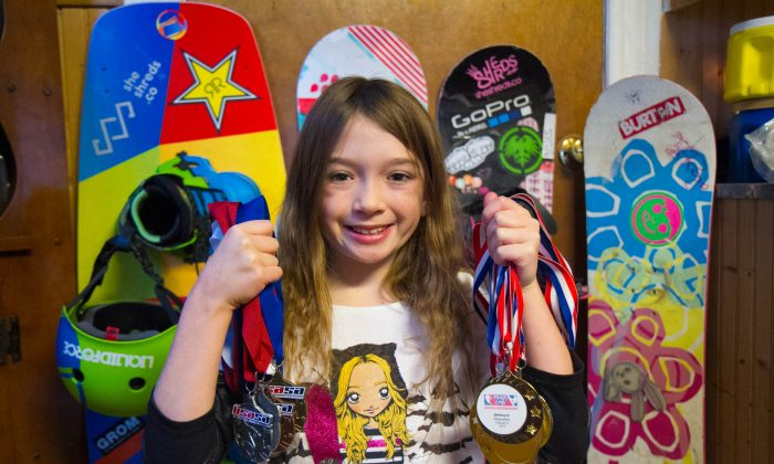 Port Jervis Snowboarder Working on Going to Nationals