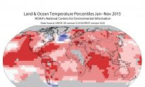 NASA: 2015 Was Earth's Hottest by a Wide Margin