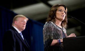 Sarah Palin: Trump 'Would Let Our Warriors Do Their Job'