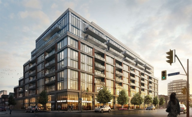 Rendering of J. Davis House, a new condo development by Mattamy Homes and Biddington Homes in preconstruction at 1955 Yonge Street in Toronto. The development is scheduled for completion in 2018. (Milborne Real Estate Inc.)