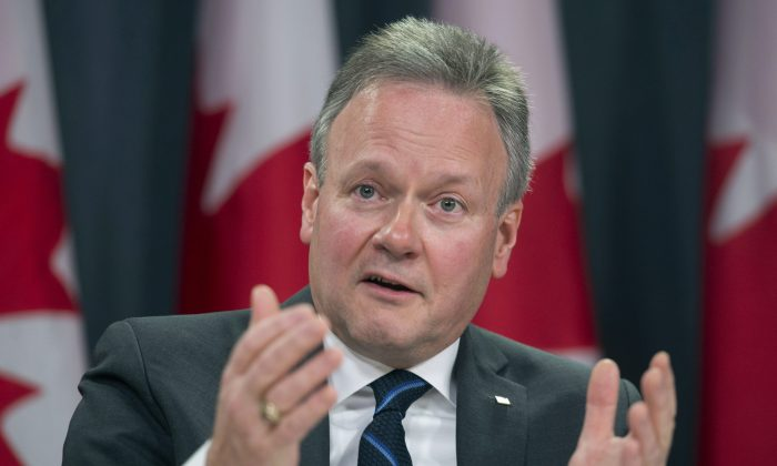 Bank of Canada governor Stephen Poloz speaks with the media on Jan. 20, 2016 in Ottawa. (The Canadian Press/Adrian Wyld)