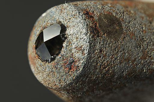 Vickers test anvil.  (R Tanaka, CC BY 3.0)