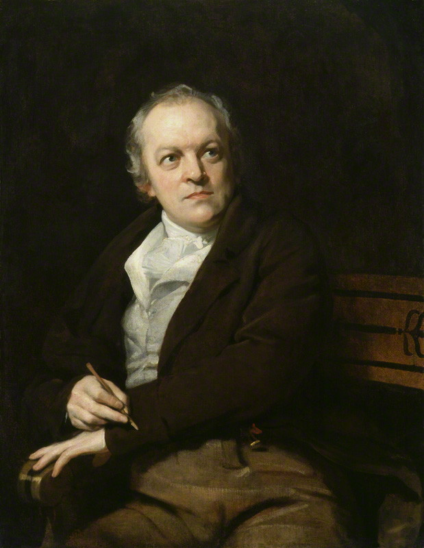 Thomas Phillips painting of William Blake from 1807. (PD-Art)