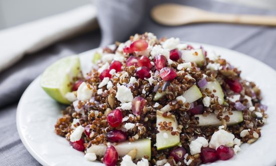 Recipe: Pomegranate and Pear Quinoa Salad