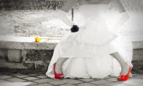 Jilted Bride Gives Homeless Women & Kids Big Party