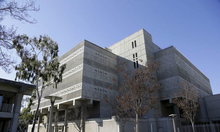 The exterior of Central Men's Jail in Santa Ana, Calif., on Jan. 25, 2016. (AP Photo/Nick Ut)