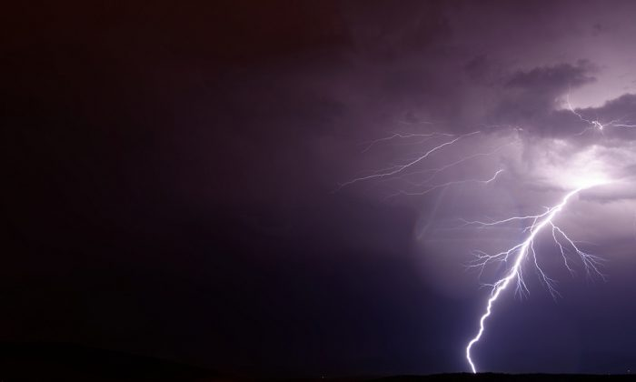 There's evidence that antimatter is produced in thunderstorms. (Thomas Bresson, CC BY 2.0)