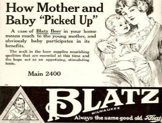 Blatz Beer, 1916