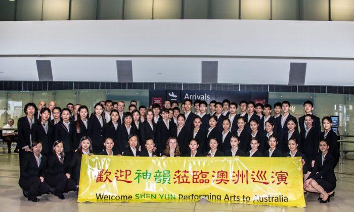 Shen Yun's World Company Arrives Downunder