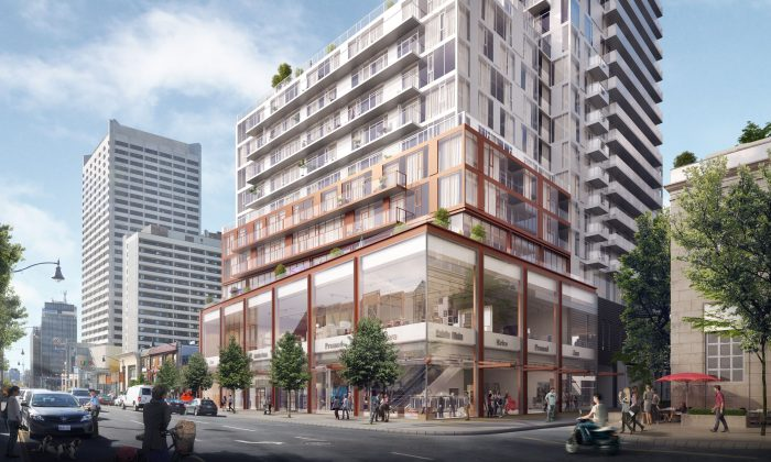 Whitehaus Condos, a new condo development by Lifetime Developments and Knightstone Capital Management Inc. currently in preconstruction at 2360 Yonge Street in Toronto. The development is scheduled for completion in 2019. (Courtesy of Lifetime Development)