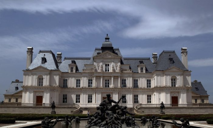 The Zhang-Lefitte Chateau in Changping, Beijing. (Getty Images)