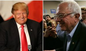 New Poll on Iowa Caucus Voting Day Has Trump and Sanders on Top