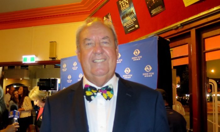 Shen Yun Performers 'Are Great Artists' Says John McGrath MLA