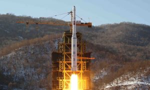 North Korea Fires Ballistic Missile Into Sea In Response to US Sanctions