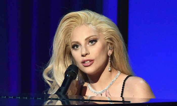 Lady Gaga performs onstage at the 27th Annual Producers Guild Of America Awards at the Hyatt Regency Century Plaza on January 23, 2016 in Century City, California.  (Kevin Winter/Getty Images)