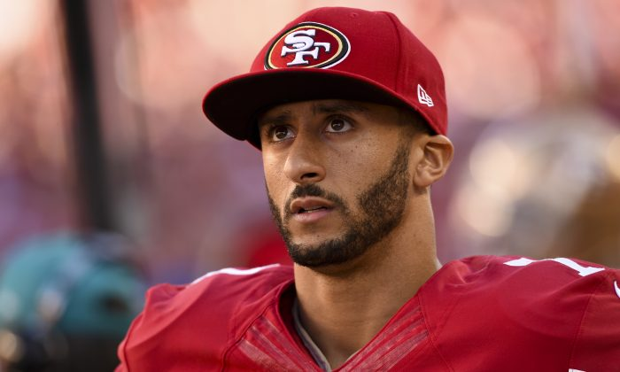 Former San Francisco 49er quarterback Colin Kaepernick. (Thearon W. Henderson/Getty Images)