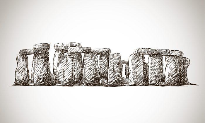 An illustration of Stonehenge. (Kameshkova)