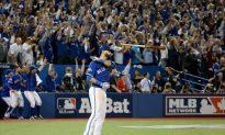 Jose Bautista's Infamous Bat Flip Highlights His New Topps Baseball Card