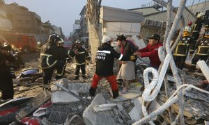 Strong 6.4-Magnitude Earthquake Hits Taiwan, 2 Appartment Buildings Collapse