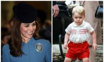 Kate Middleton Says Prince George Wants to Be an Air Force Cadet Like Dad