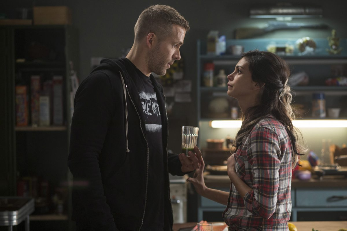 man and woman argue in Deadpool