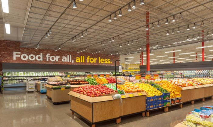The produce department at the Real Canadian Superstore at Argentia Rd. and Winston Churchill Blvd. in North Mississauga, Ontario. (Courtesy of Real Canadian Superstore