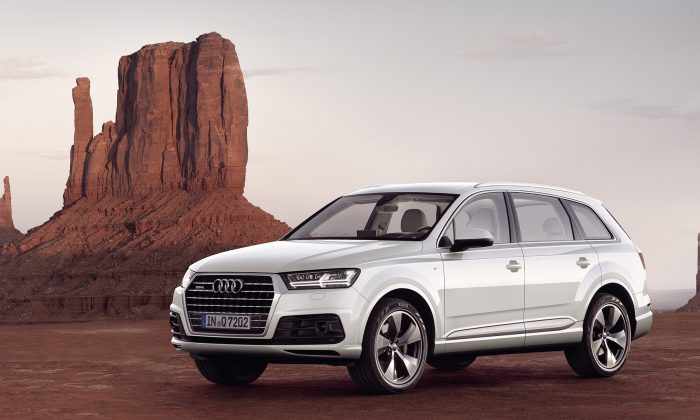 2017 Audi Q7. (Courtesy of Audi)