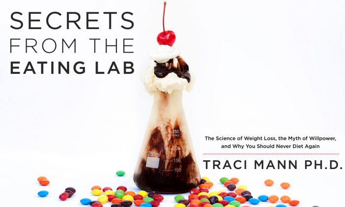 """Cover of the book """"Secrets From the Eating Lab"""" by Traci Mann. (HarperCollins Publishers)"""