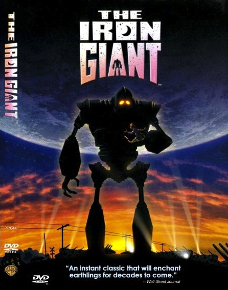 an iron giant. Proof That Film Critics Don't Know What Kids Like