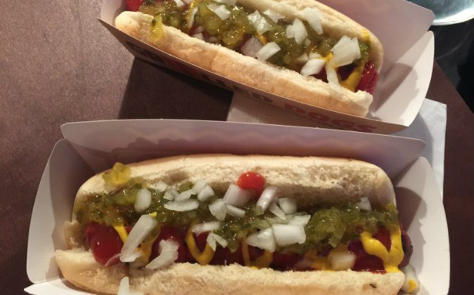 """A Burger King """"classic"""" hot dog at a media event to introduce the restaurant's new menu item, in New York on Feb. 9, 2016."""